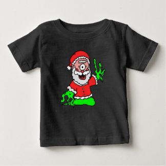 突然変異体サンタ ベビーTシャツ