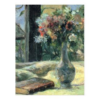 窓でつぼ-ポール・ゴーギャンで開花して下さい ポストカード