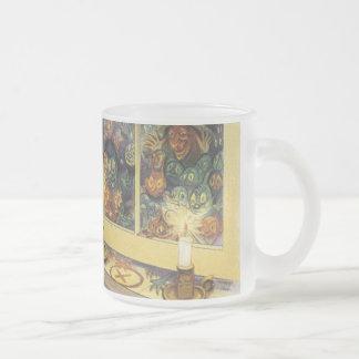 Witch at the Window Halloween Mug