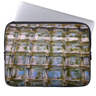 窓のブロックパターン場合 ラップトップスリーブ