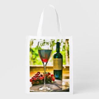 窓のワイン エコバッグ