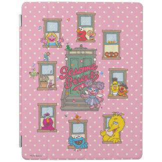 窓のヴィンテージの芸術 iPad カバー