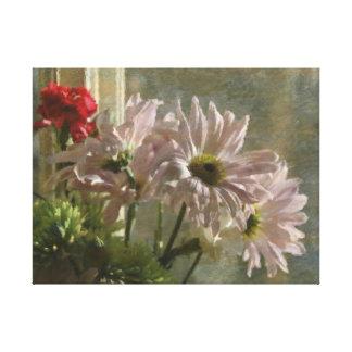 窓の花 キャンバスプリント
