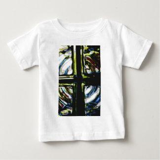 窓の芸術の十字1 ベビーTシャツ