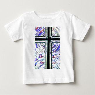窓の芸術の十字2 ベビーTシャツ