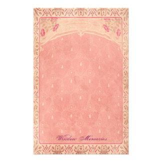 窓の記憶-アールヌーボーの文房具 便箋