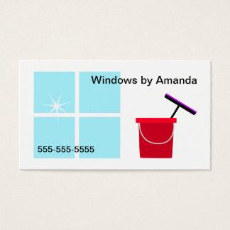 窓拭き 名刺
