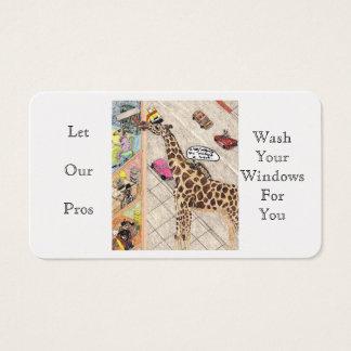 窓洗濯機 名刺