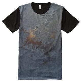 窓霜#1 オールオーバープリントT シャツ