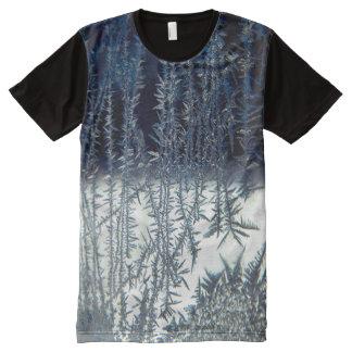 窓霜#3 オールオーバープリントシャツ