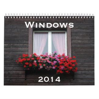 窓2014年 カレンダー