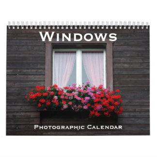 窓2018年 カレンダー