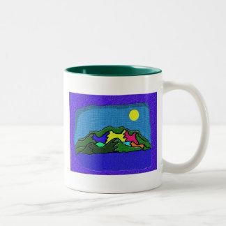 窓 ツートーンマグカップ