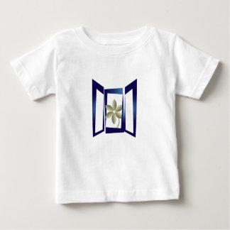 窓 ベビーTシャツ