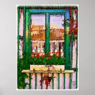 窓 ポスター