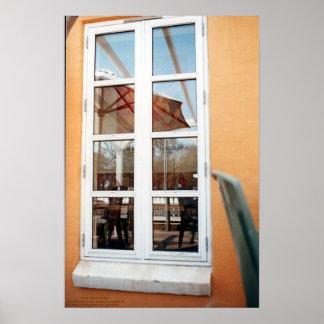 窓、後ろ、そして向こう ポスター