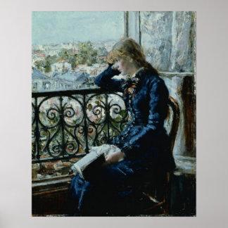 窓、1881年 ポスター