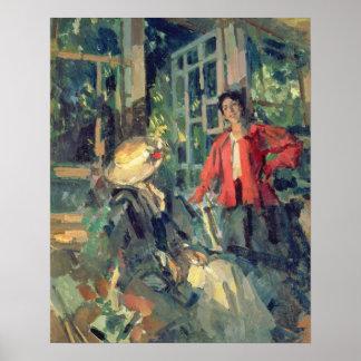 窓、1919年 ポスター