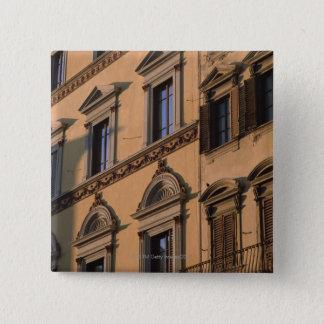 窓 5.1CM 正方形バッジ