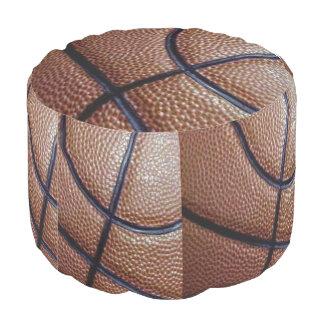 窪みおよびラインとのバスケットボールの部分 ラウンドクッション