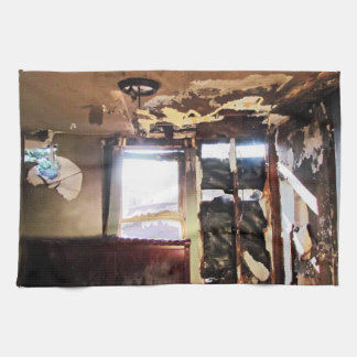 窮乏の窓 キッチンタオル