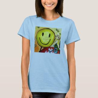 窮乏、スマイリー Tシャツ