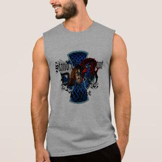 立ち、叫んで下さい 袖なしシャツ