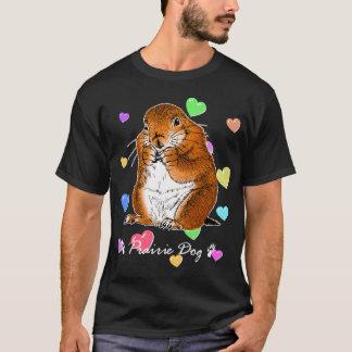 立つプレーリードッグ Tシャツ