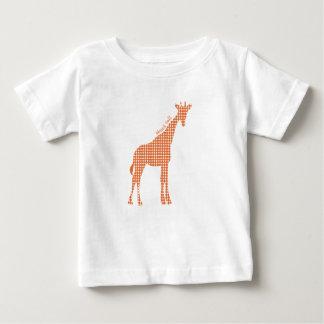 立場の高いキリン ベビーTシャツ