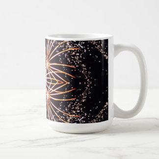 立方体になる花火 コーヒーマグカップ