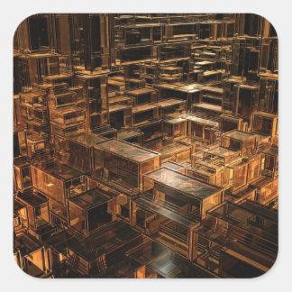 立方体の世界 スクエアシール