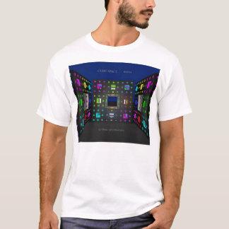 立方体の宇宙(前部) Tシャツ