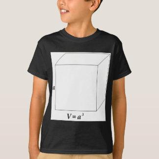 立方体の容積 Tシャツ