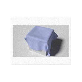 立方体の布 キャンバスプリント