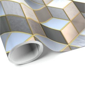 立方体の芸術2の包装紙 ラッピングペーパー