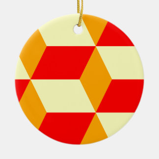 立方体箱 セラミックオーナメント