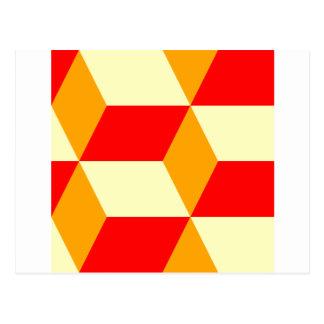 立方体箱 ポストカード