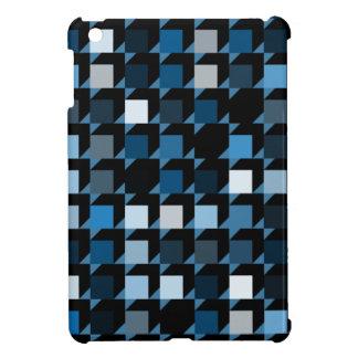 立方体青い04 iPad MINIケース