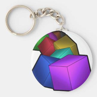 立方体 キーホルダー
