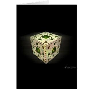 立方体 グリーティングカード