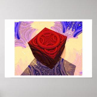 立方体 ポスター