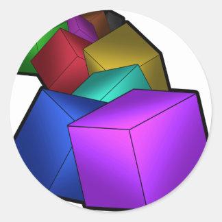 立方体 ラウンドシール