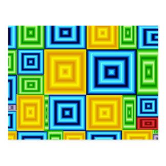 立方色 ポストカード
