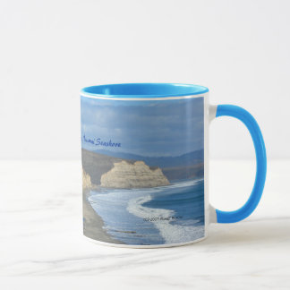 竜のビーチ-ポイントレイエスの国民の海岸 マグカップ