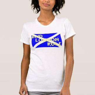 端のロンドンの規則の女性のタンクトップ Tシャツ