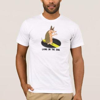 端のTシャツに住んでいるアルマジロ Tシャツ