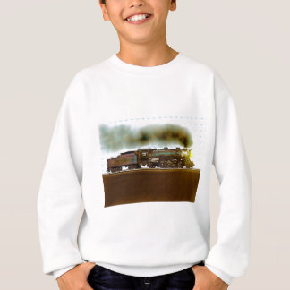 端正な鉄道景色 スウェットシャツ