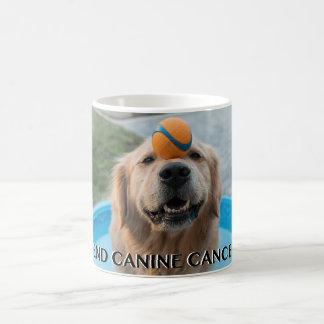端犬癌のマグ コーヒーマグカップ