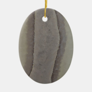 端-穏やかな抽象的概念 陶器製卵型オーナメント