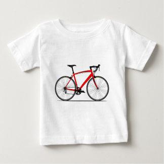 競争のバイク ベビーTシャツ